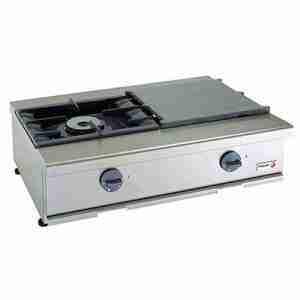 CG-200S Cocina a gas sobremesa 2 fuegos - FAGOR