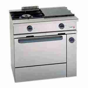 CG-210 Cocina a gas FAGOR 2 fuegos + horno GN 1/1