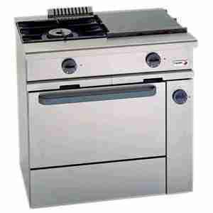 CG-210G Cocina a gas FAGOR 2 fuegos + horno con GRILL