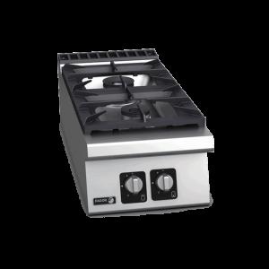 CG9-20H Cocina a gas sobremesa 2 fuegos Serie 900 FAGOR
