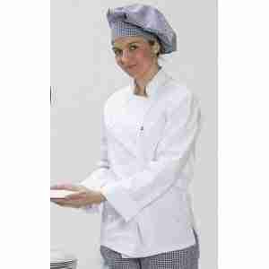 Chaqueta cocinero señora manga francesa.