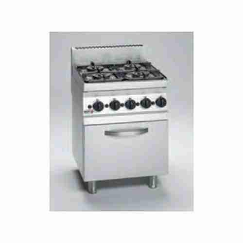 CG6-41 Cocina gas FAGOR Serie 600 4 fuegos + Horno 45x42x30