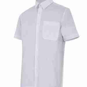 Camisa caballero manga corta 1 bolsillo
