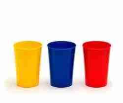 Set 10 vasos polipropileno 250cc. colores